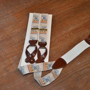 Trafalgar Suspenders - Limited Elephant Print
